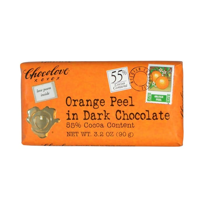 Chocolove Chocolate Orange 55% Peel In Dark