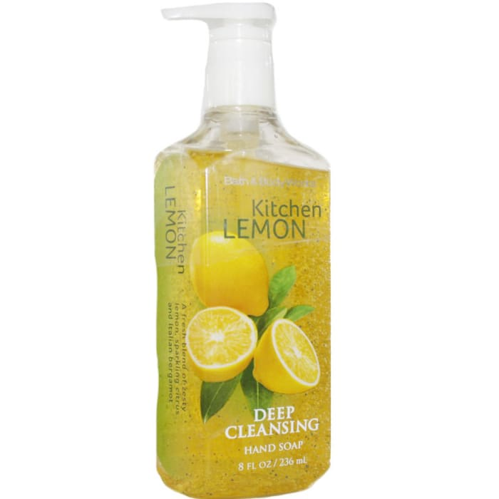 Bath & Body Works Deep Cleansing H Kitchen Lemon and Soap