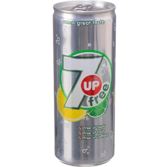 7up Free Can