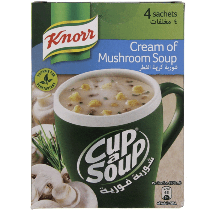 Knorr Cup A Soup Cream Of Mushroom