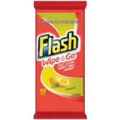 Flash Wipes Easy Clean Lemon