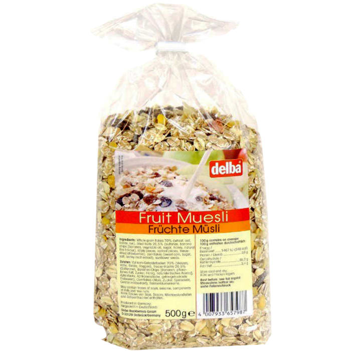 Delba Fruit Muesli
