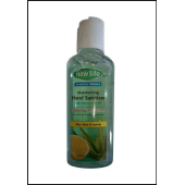 New Life Moisturizing Hand Sanitizer Aloe Vera and Lemon