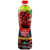 Nestle Fruita Vitals Red Grapes Juice Bottle 1 Litre