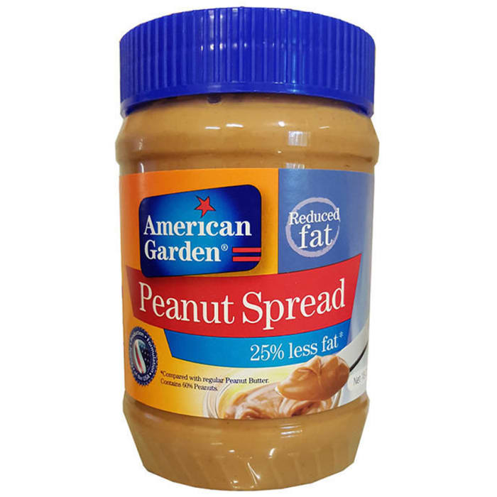 American Garden  Peanut Spread Reduced Fat