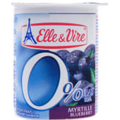 Elle & Vire Blueberry Fruit Yogurt