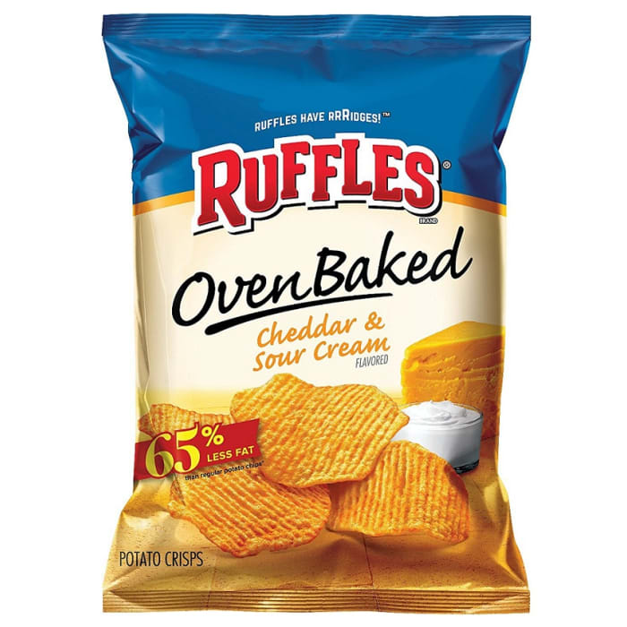 Ruffles Oven Baked Cheddar and Sour