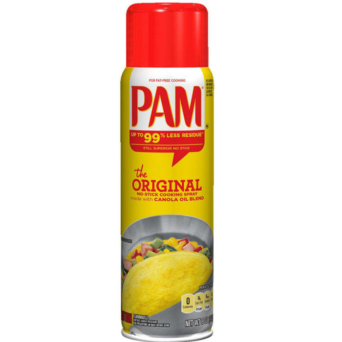 Pam The Original No-Stick Cooking Spray with Canola Oil Blend