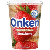 Onken Wholegrain Strawberry Biopot Yogurt