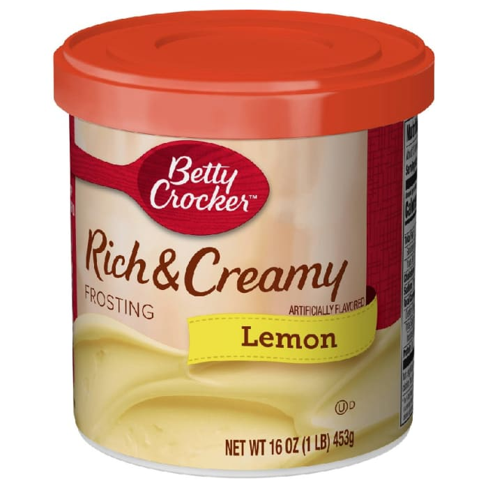 Betty Crocker Rich & Creamy Lemon Frosting 453 Grams