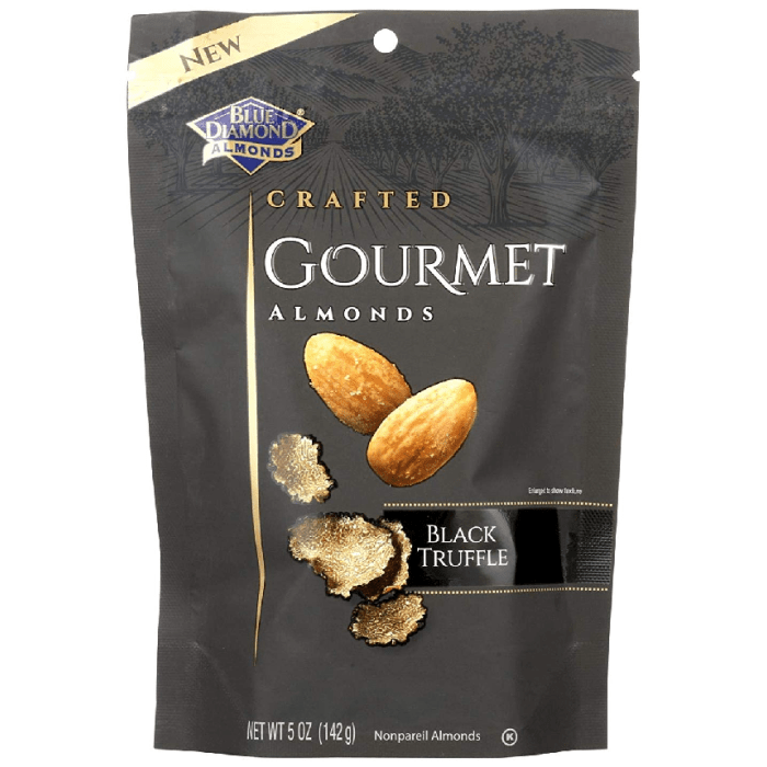 Blue Diamond Crafted Gourmet Almonds Black Truffle 142 Grams
