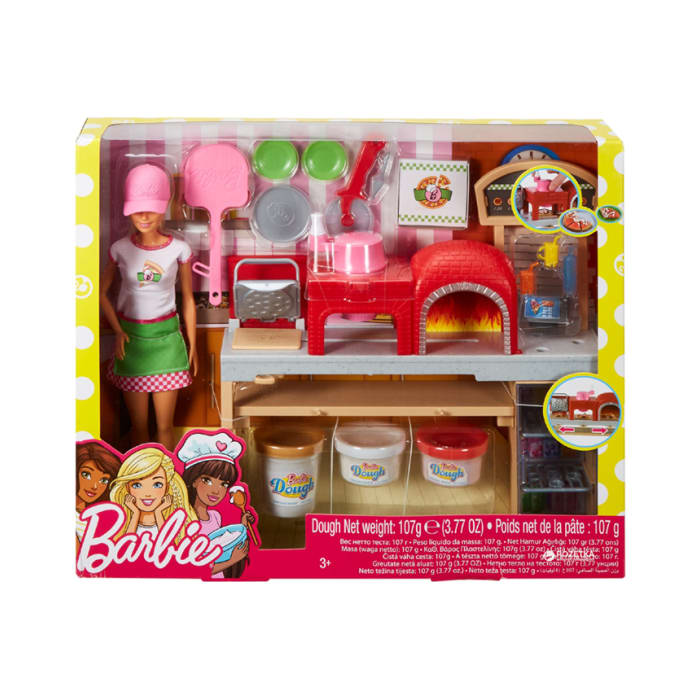 Barbie Pizza Making Doll & Playset FHR09