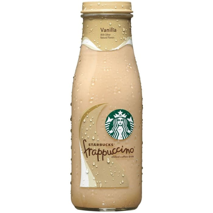 Starbucks Frappuccino Vanilla Chilled Coffee