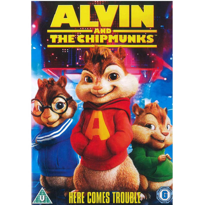 The Chipmunks Alvin Movie Cds