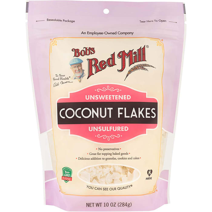 Bob's Red Mill Coconut Flakes Unsweetened 284g