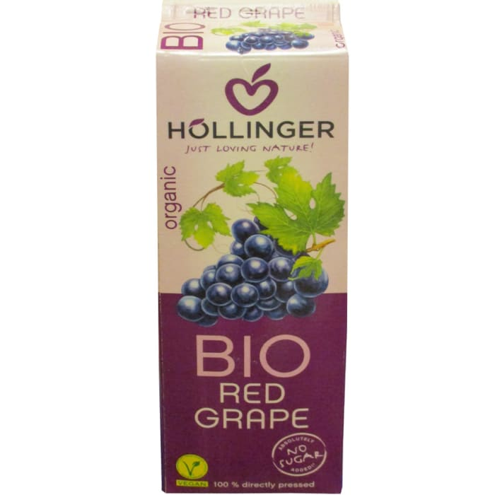 Hollinger Bio Organic Juice Red Grape