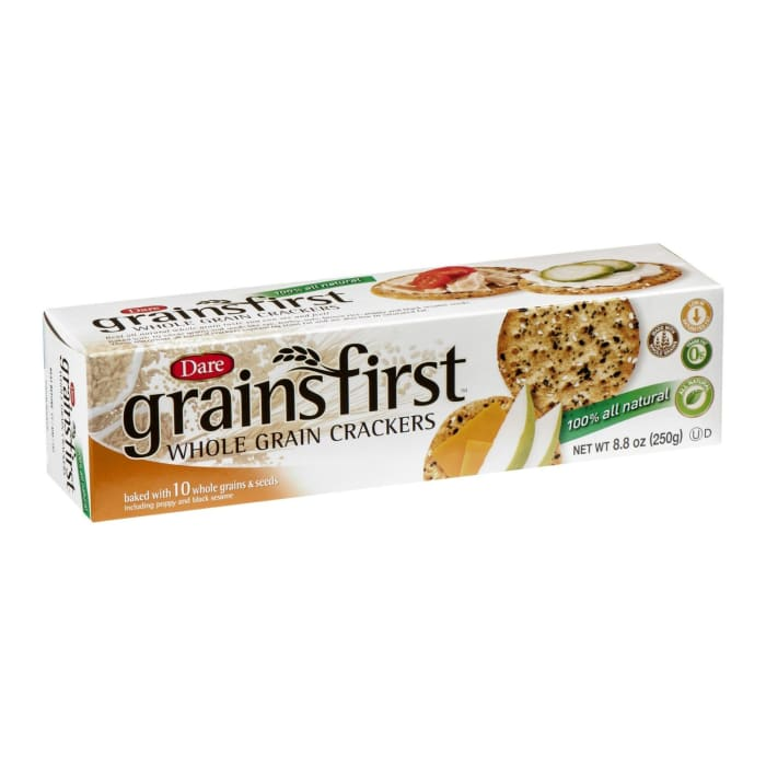 Dare   Whole Grain Crackers Grainsfirst