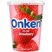 Onken 0% Fat Strawberry Biopot Yogurt