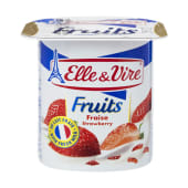 Elle & Vire Strawberry Yogurt 125g