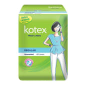 Kotex Fresh Liner Regular Unscented 40s