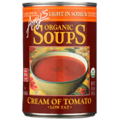 Amy's Organic Soup Light In Sodum Cream Of Tomato Low 411g