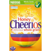 Nestle Cereals Honey Wheat Cheerios 375g