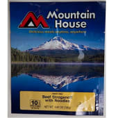 Mountain House  Soups Freeze Dried Beef Stroganoff With Noodles
