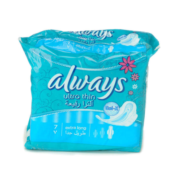 Always Women Care Ultra Super With Wings