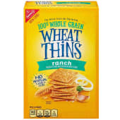 Wheat Thins Crackers Ranch 453g