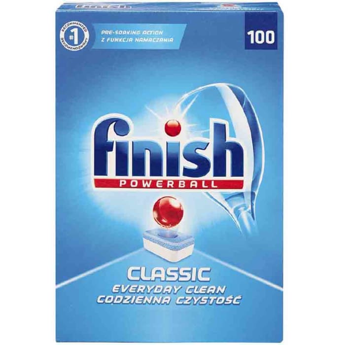 Finish Dishwasher Powerball Classic 100/ct 1.75kg