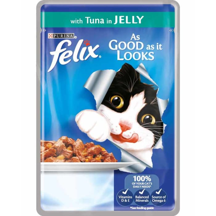 Felix Cat Food Assorted Pouch