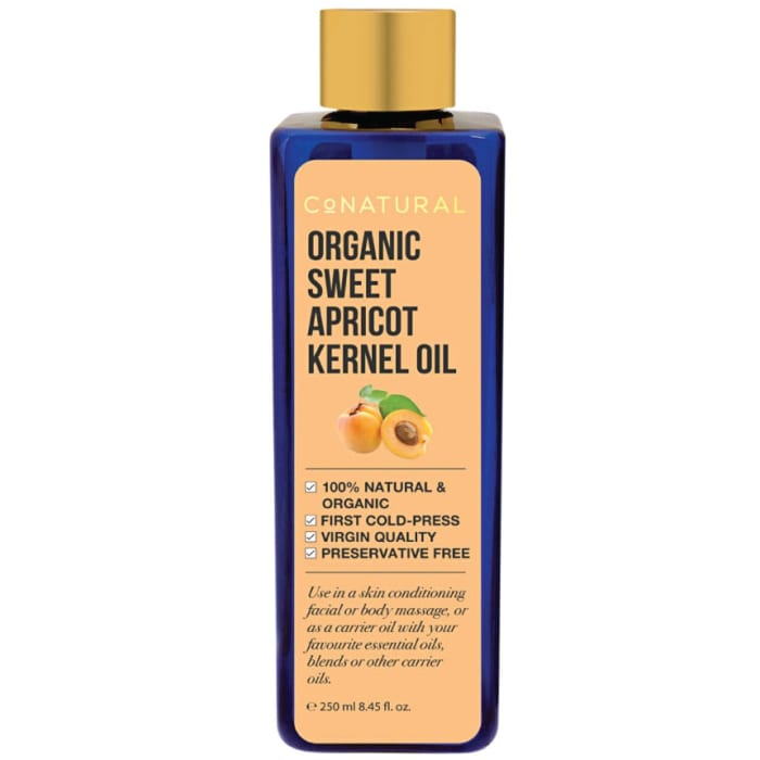 Conatural Organic Sweet Apricot Kernel Oil