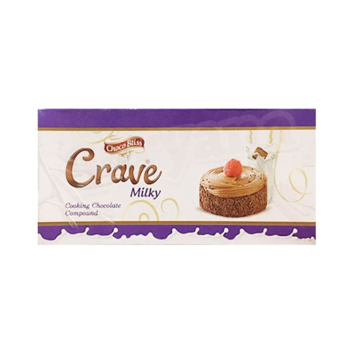 Choco Bliss Crave Milky Cooking Chocolate 500g