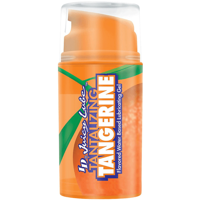 ID Juicy Lube Tangerine Flavored Water Based Airless Pump