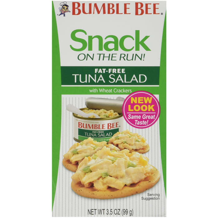Bumble Bee Fat Free Tuna Salad With Crackers