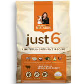 Rachael Ray Nutrish Just 6 Natural Dog Food 6.35Kg