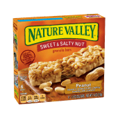 Nature Valley Sweet & Salty Nut Peanut Granola 6 Bars - 210 Grams