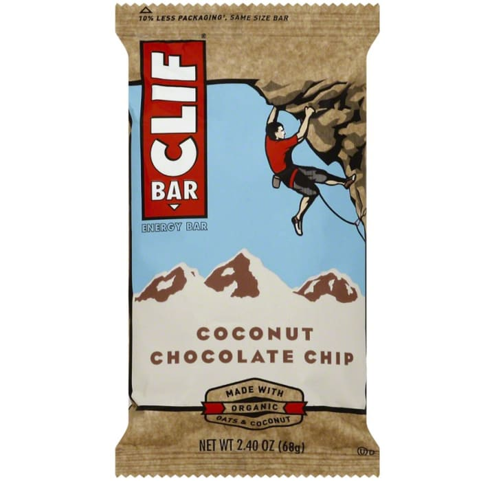 Clif Coconut Chocolate Chip Energy Bars