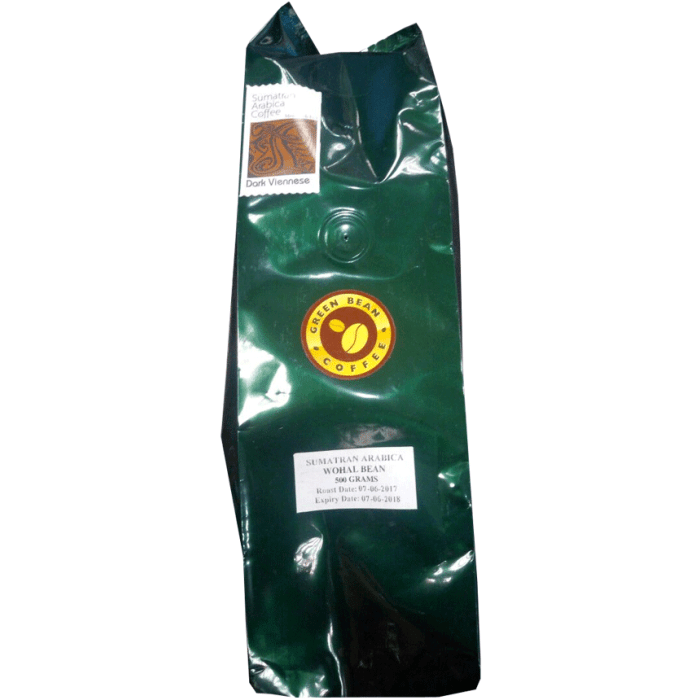 Green Bean Coffee Sumatran Arabica Whole Bean Coffee