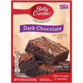 Betty Crocker Fudge Brownie Mix Dark Chocolate 500g