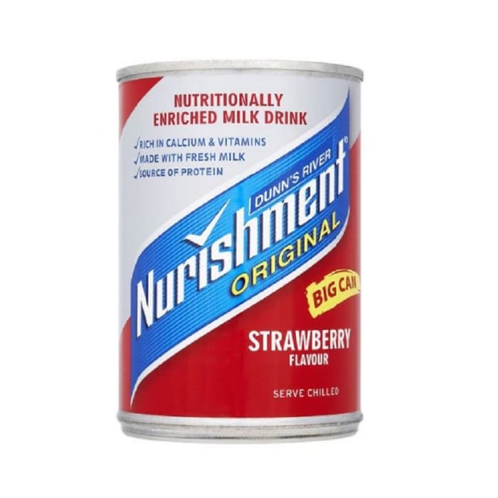 Nurishment Soft Drink Serve Chilled Strawberry