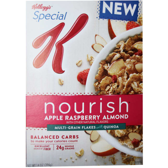 Kelloggs Special K Nourish Apple Raspberry Almond Cereal