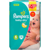 Pampers Baby Dry Extra Large