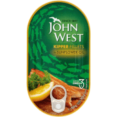 John West Tuna Kipper Fillets in Sunflower Oil