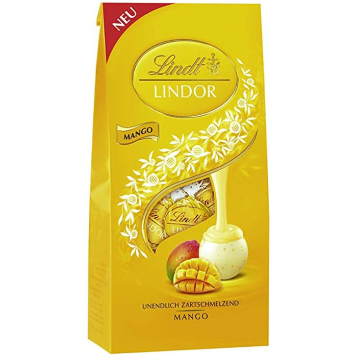 Lindt Lindoor Ball Mango Milk Chocolate