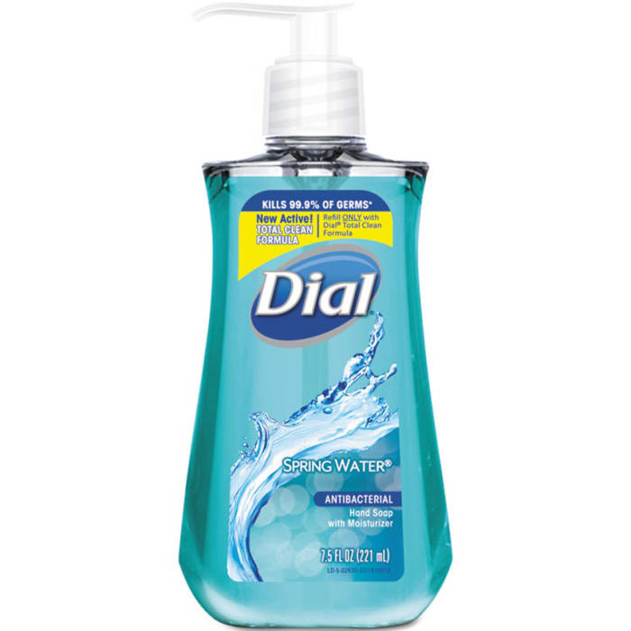 Dial Hand Wash Spring Water 221Ml