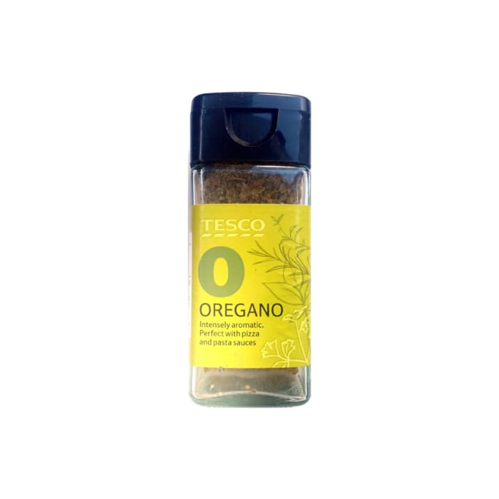 Tesco Jar Oregano Spice 14 Grams