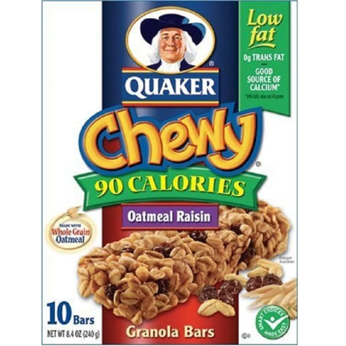 Quaker Chewy Chocolate Granola Bar
