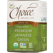 Choice Organic Premium Japanese Green Tea