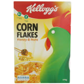 Kellogg's Corn Flakes Honey & Nuts Cereal 375g